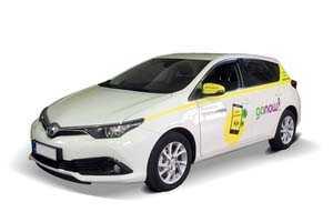 Vuokraa henkilöauto Toyota Auris 5d
