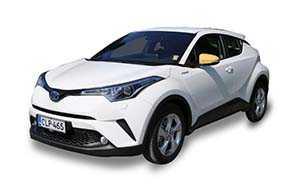 Vuokraa henkilöauto Toyota C-HR