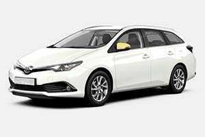 Vuokraa henkilöauto Toyota Auris STW